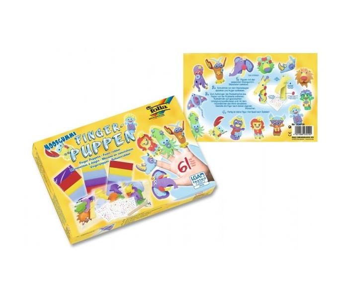 Наборы для творчества Folia Большой набор для творчества: кукольный театр на пальцы folia набор для детского творчества креатив