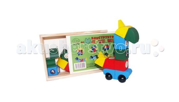 Конструкторы QiQu Wooden Toy Factory Магнитики деревянные игрушки qiqu wooden toy factory поезд