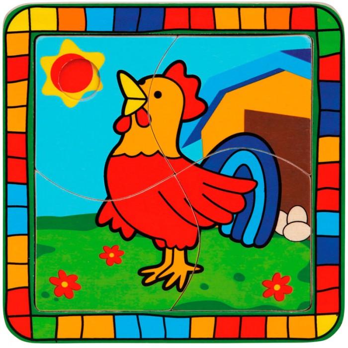 Пазлы Mertens Пазл Петух игры для малышей mertens игра маленький крот 13732