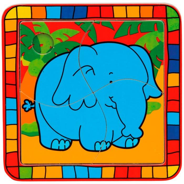 Пазлы Mertens Пазл Слон игры для малышей mertens игра маленький крот 13732