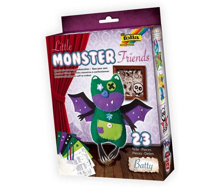 Наборы для творчества Folia Набор для создания очаровательной игрушки Монстр folia набор для детского творчества креатив