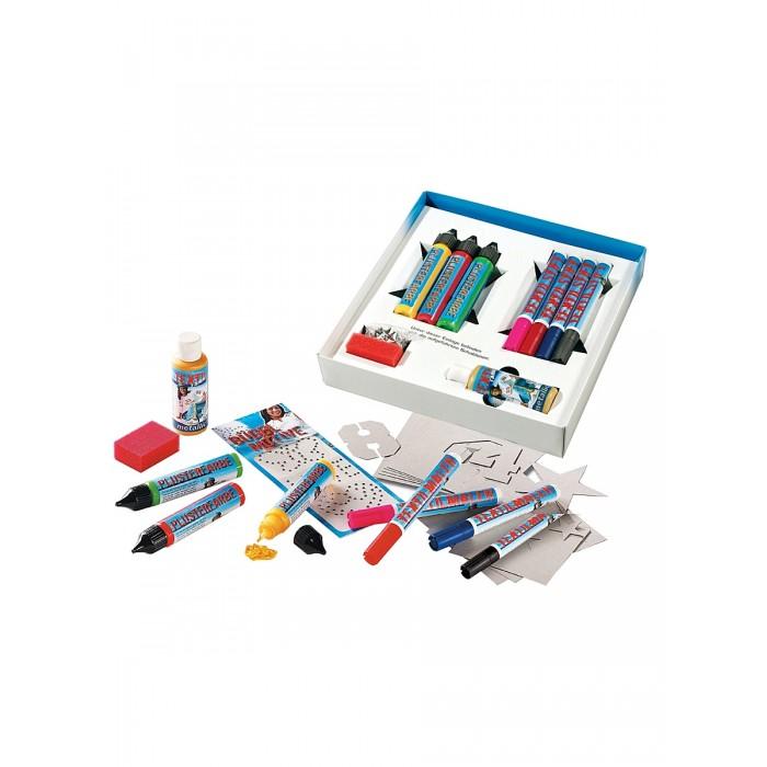 Наборы для творчества Folia Набор объемных красок и украшений для одежды folia folia sample платье s m синий