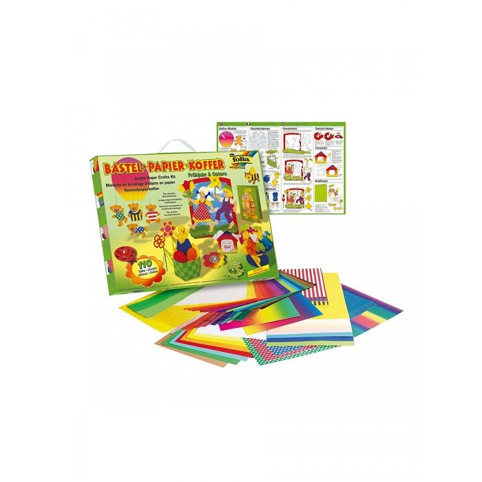 Наборы для творчества Folia Набор для детского творчества Чемоданчик Весна набор для детского творчества набор веселая кондитерская 1 кг
