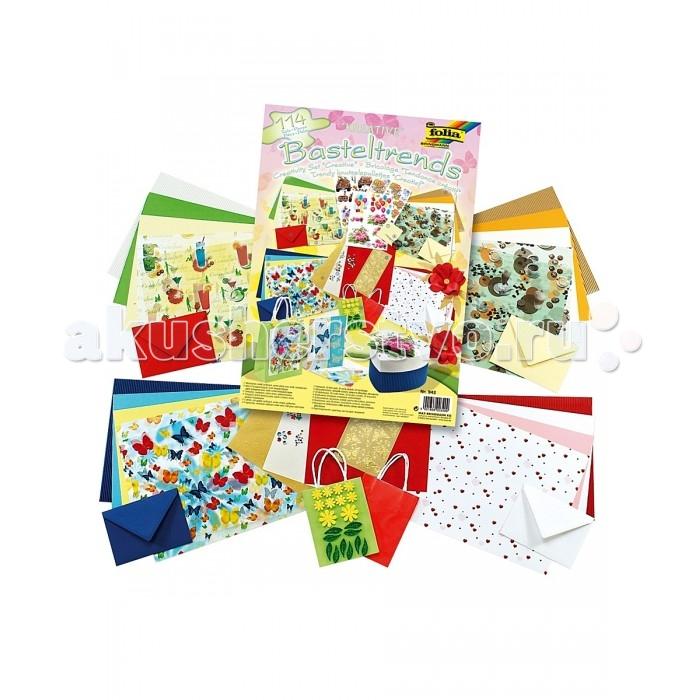 Наборы для творчества Folia Набор для детского творчества Креатив наборы для творчества folia набор для детского творчества чемоданчик весна