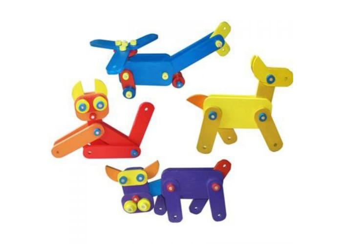 Конструкторы QiQu Wooden Toy Factory Большой конструкторский набор деревянные игрушки qiqu wooden toy factory поезд