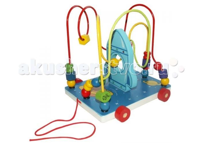 Деревянные игрушки QiQu Wooden Toy Factory Лабиринт Космос деревянные игрушки qiqu wooden toy factory поезд