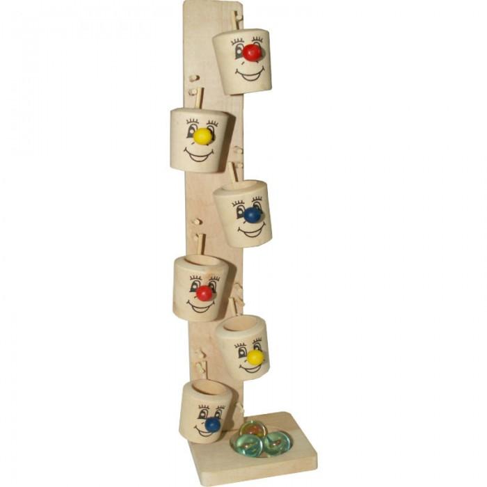 Деревянные игрушки QiQu Wooden Toy Factory Игра Ведерки деревянные игрушки qiqu wooden toy factory поезд