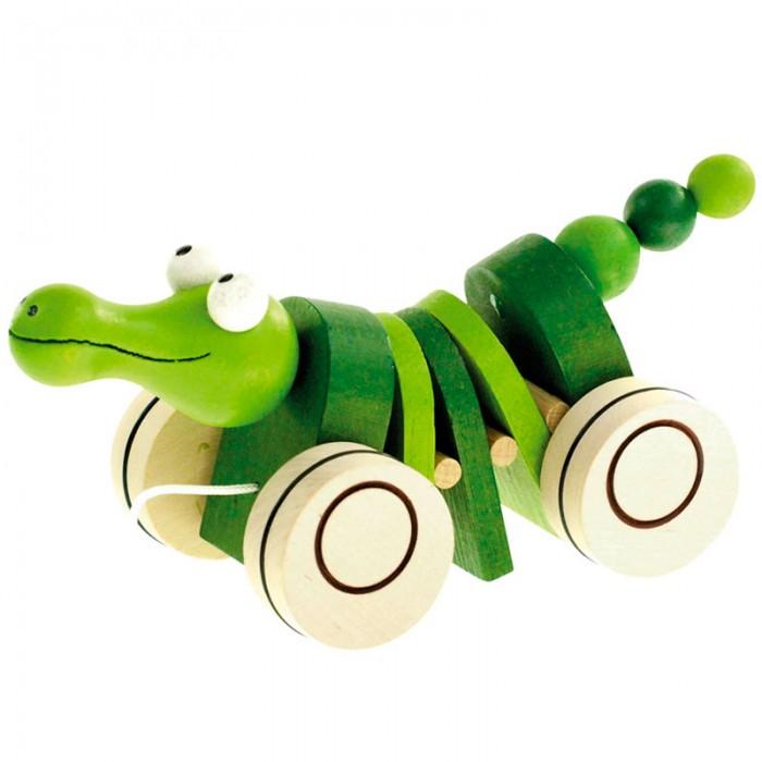 Каталка-игрушка Mertens Крокодил 90986