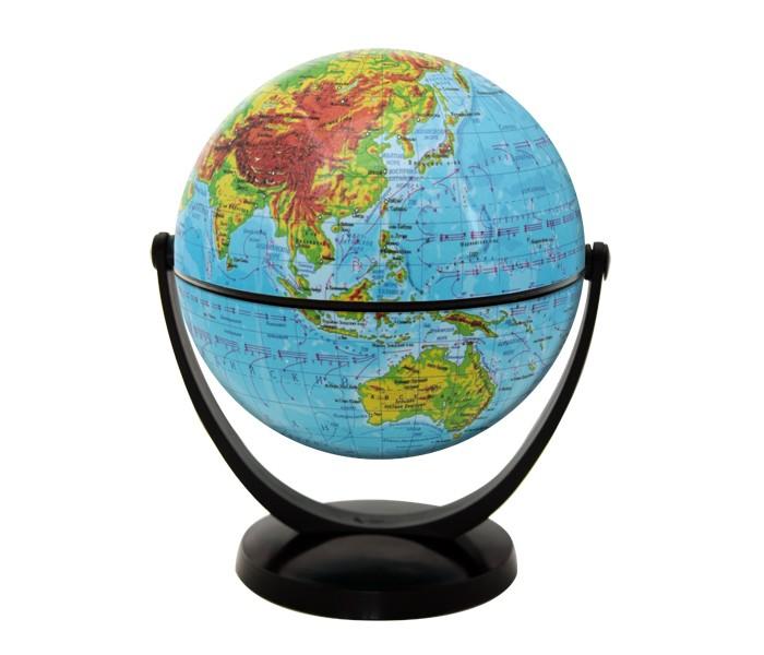 Глобусы Rotondo Глобус физический 10,6 см с экваториальным креплением