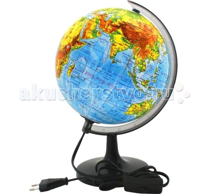 Развитие и школа , Глобусы Rotondo Глобус физический с подсветкой 20 см арт: 145027 -  Глобусы