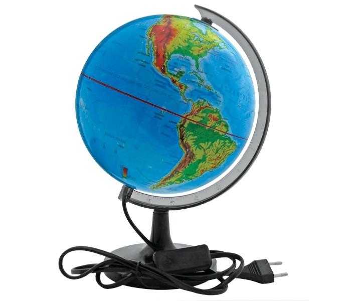 Развитие и школа , Глобусы Rotondo Глобус физический с подсветкой 32 см арт: 145051 -  Глобусы
