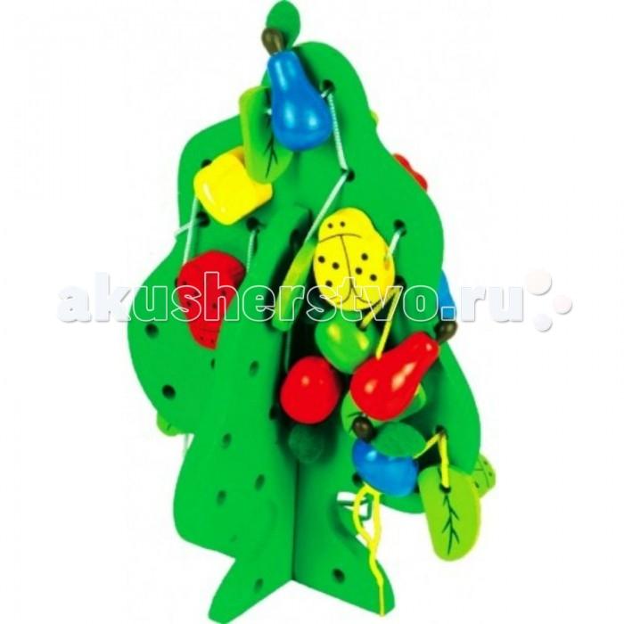 Деревянные игрушки QiQu Wooden Toy Factory Шнуровка Дерево деревянные игрушки qiqu wooden toy factory поезд