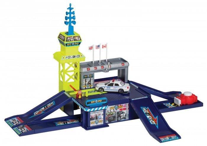 Игровые наборы RealToy Игровой набор Полицейский участок 1 машина 28516 игровой набор danik виртуальный учитель english полицейский участок