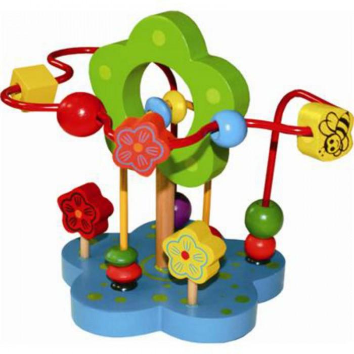 Деревянные игрушки QiQu Wooden Toy Factory Лабиринт Цветочек деревянные игрушки qiqu wooden toy factory поезд