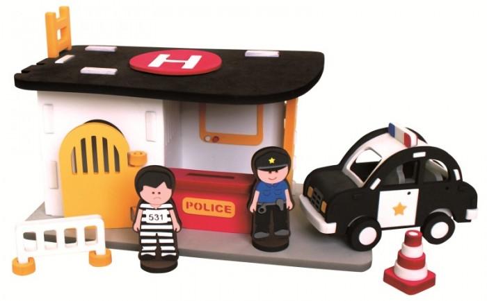 Конструкторы Bebox Полицейский участок 67 деталей конструкторы fanclastic конструктор fanclastic набор роботоводство