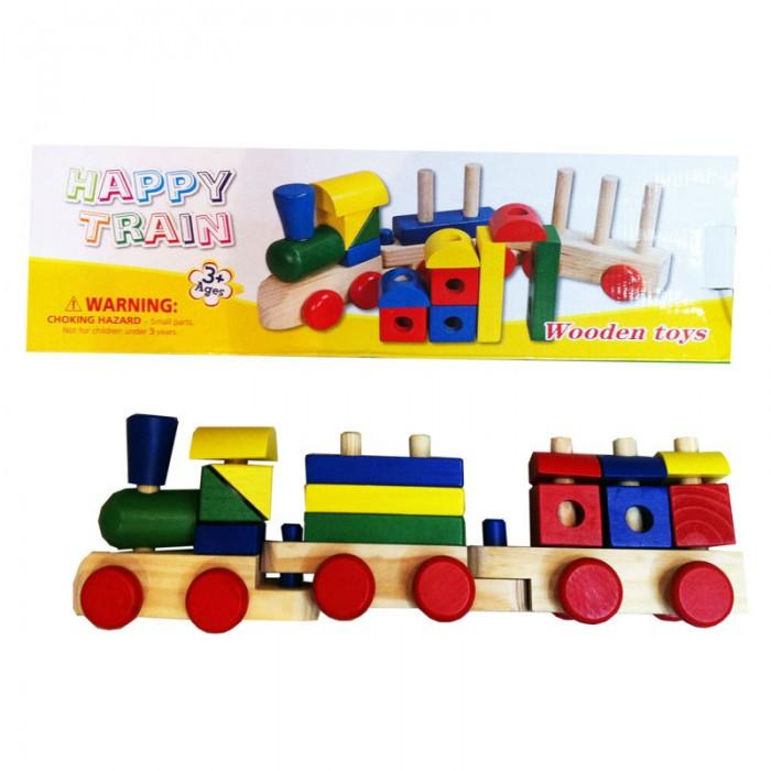 Деревянные игрушки QiQu Wooden Toy Factory Поезд деревянные игрушки qiqu wooden toy factory поезд