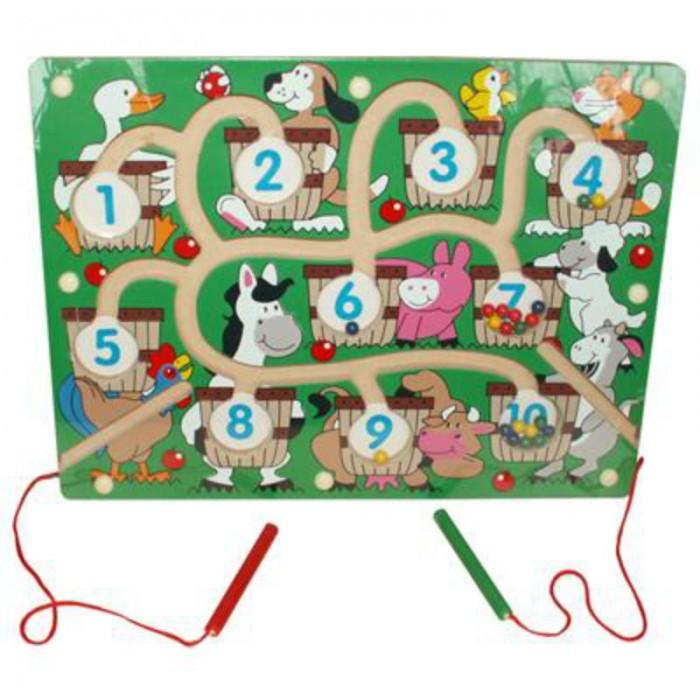 Настольные игры QiQu Wooden Toy Factory Игра магнитная Ферма игра каррас аква ферма x197
