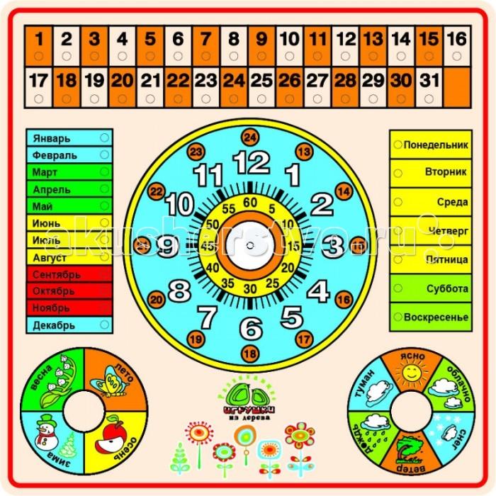 Раннее развитие QiQu Wooden Toy Factory Рамка Календарь деревянные игрушки qiqu wooden toy factory поезд