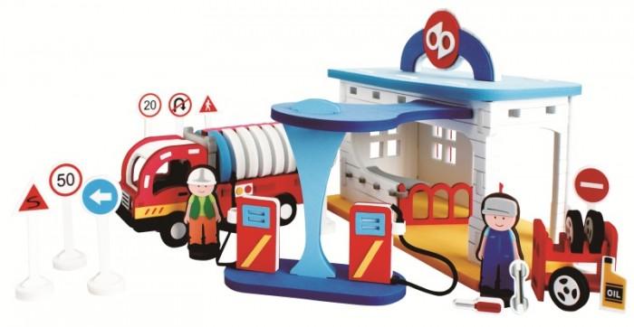 Конструкторы Bebox Автозаправочная станция 134 детали игровые наборы tongde игровой набор автозаправочная станция