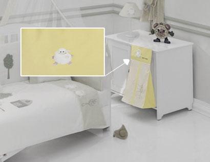 Постельные принадлежности , Карманы и панно Kidboo Прикроватная сумка Fluffy Sheep арт: 14588 -  Карманы и панно