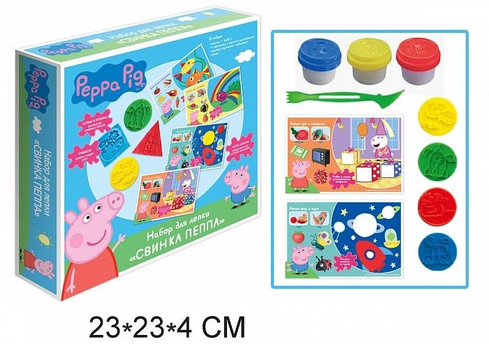 Всё для лепки Свинка Пеппа (Peppa Pig) Набор для лепки Пеппа набор для лепки peppa pig свинка пеппа