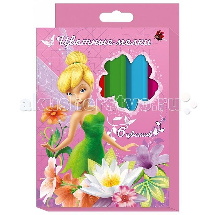 Мелки Росмэн цветные Disney Феи 6 цветов сумка cerruti 1881 cerruti 1881 ce899bmoea37