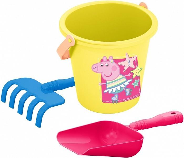 Игрушки в песочницу Свинка Пеппа (Peppa Pig) Набор песочный №1 в сетке peppa pig транспорт 01565
