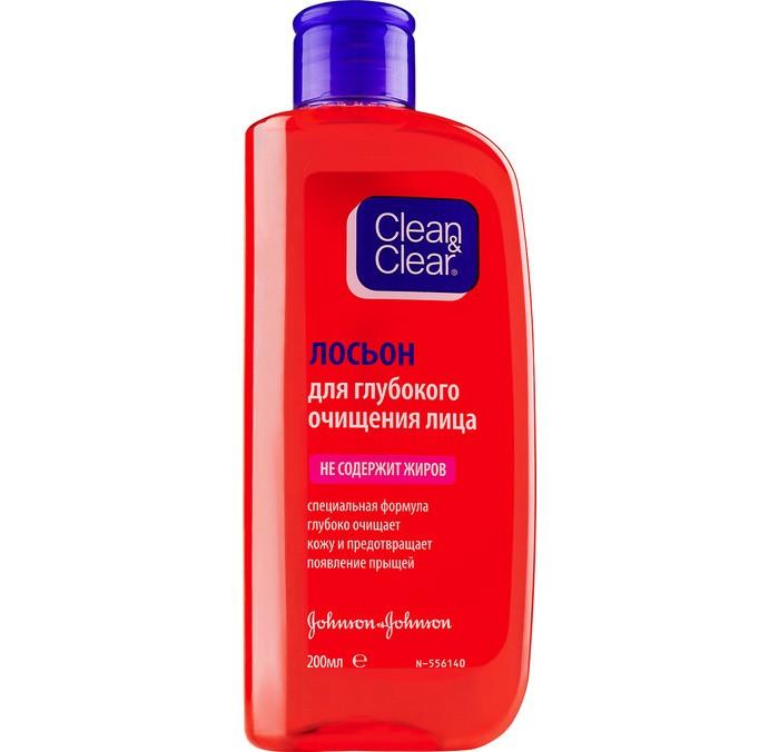 Косметика для мамы Clean & Clear Лосьон для глубокого очищения лица 200 мл косметика для мамы clean