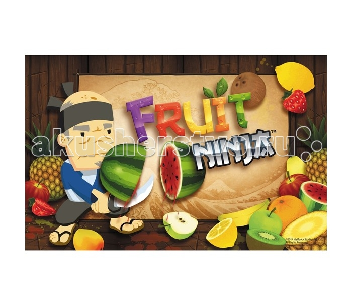 Канцелярия Action Подкладка на стол Fruit Ninja 140 page note paper creative fruit design