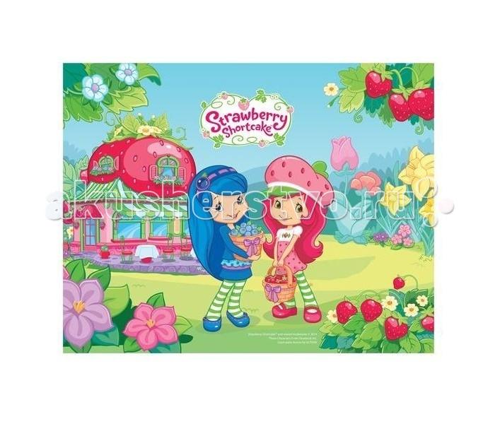 Канцелярия Action Подкладка на стол Strawberry Shortcake