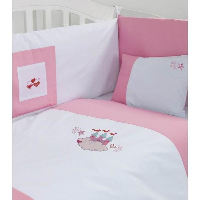 Постельное белье Kidboo Fairy Tale Premium (3 предмета) постельное белье fairy жирафик 140х70 3 предмета