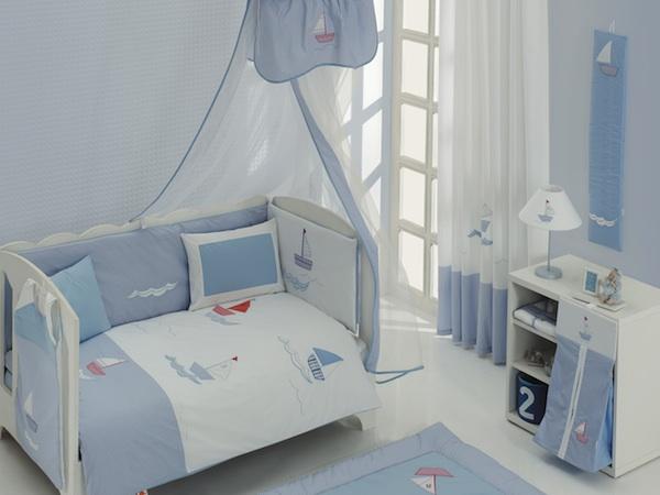 Постельные принадлежности , Постельное белье Kidboo Blue Marine Premium (3 предмета) арт: 14757 -  Постельное белье