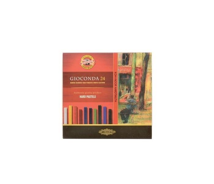 Карандаши, восковые мелки, пастель Koh-i-Noor Набор твердой художественной пастели Gioconda 24 цвета карандаши koh i noor набор карандашей 24 цвета