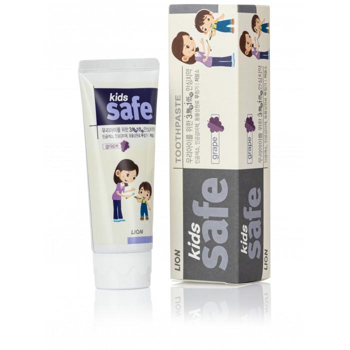 Фото Гигиена полости рта CJ Lion Детская зубная паста Kids Safe со вкусом винограда