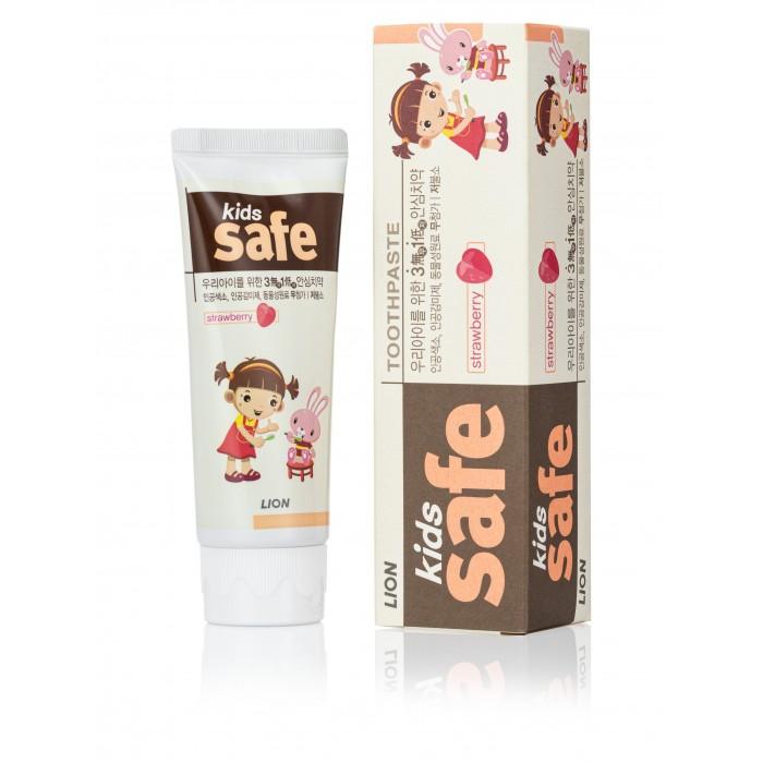 Гигиена полости рта CJ Lion Детская зубная паста Kids Safe со вкусом клубники 90 г конфэшн минутки вафли со вкусом сливок айриш крим 165 г