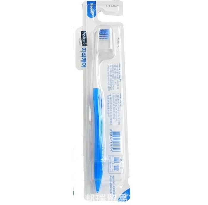 Гигиена полости рта CJ Lion Зубная щетка Systema Tartar регулярная гигиена полости рта r o c s модельная зубная щетка средняя