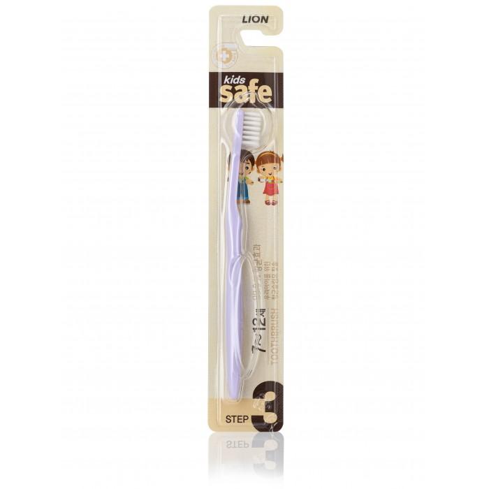 Фото Гигиена полости рта CJ Lion Зубная щетка детская Kids Safe с нано-серебряным покрытием №3
