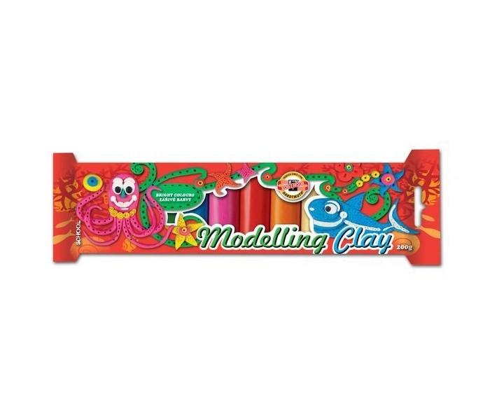 Всё для лепки Koh-i-Noor Пластилин детский 10 цветов 200 г пластилин детский классика 16 цветов 20с 1329 08