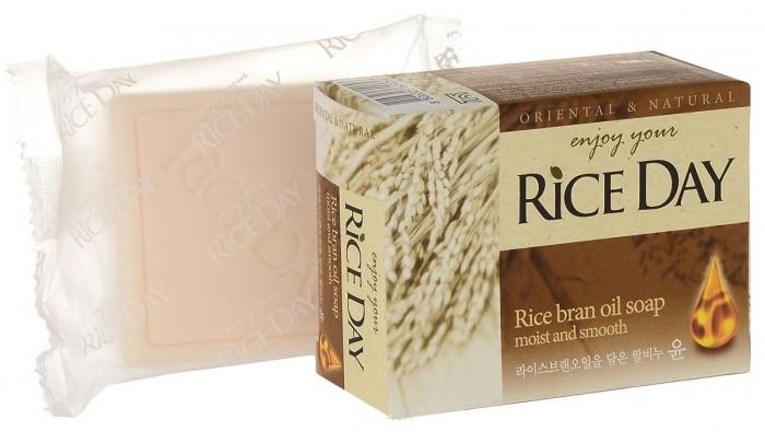 Косметика для мамы CJ Lion Мыло туалетное Rice Day экстракт рисовых отрубей 100 г