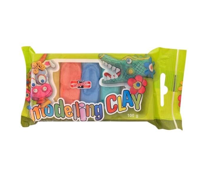 Всё для лепки Koh-i-Noor Пластилин 5 цветов 100 г пластилин детский классика 16 цветов 20с 1329 08