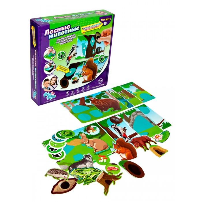 Игры для малышей Pic`n Mix Игра настольная Лесные животные мячи pic n mix мяч массажно игровой большой 18 см