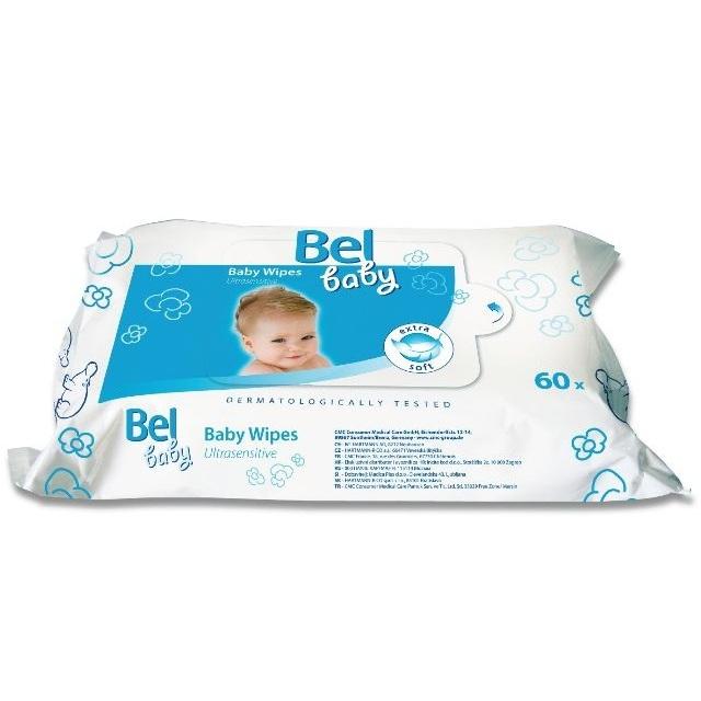 Салфетки Hartmann Bel Baby wipes Влажные салфетки для чувствительной кожи