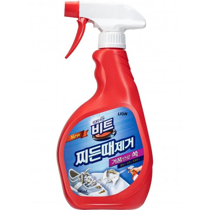 Бытовая химия CJ Lion Жидкое чистящее средство для обработки ткани перед стиркой Beat спрей 500 мл