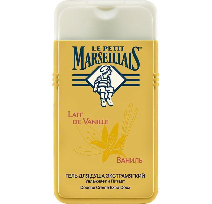 Косметика для мамы Le Petit Marseillais Гель для душа Ваниль 250 мл le petit marseillais гель для душа цветок апельсинового дерева 250 мл