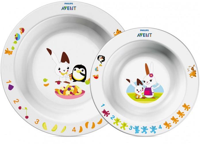 Посуда Philips Avent Набор глубоких тарелок  недорого