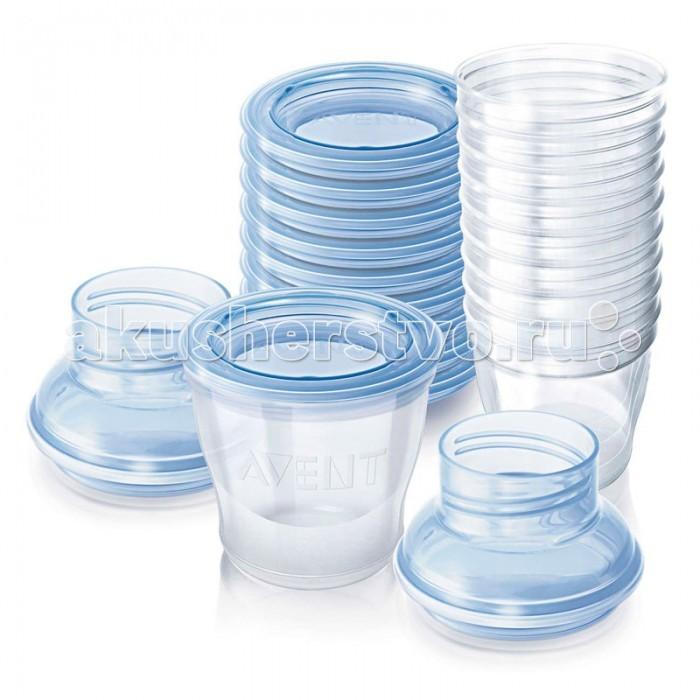 Аксессуары для кормления , Контейнеры Philips Avent Набор контейнеров для хранения молока SCF612/10 арт: 14907 -  Контейнеры