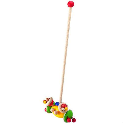 каталки игрушки djeco на палке петух фани Каталки-игрушки Wonderworld Краб ВВ-1123