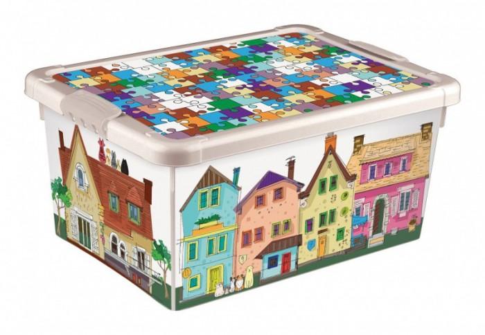 Ящики для игрушек Бытпласт Ящик для игрушек Город 8.4 л