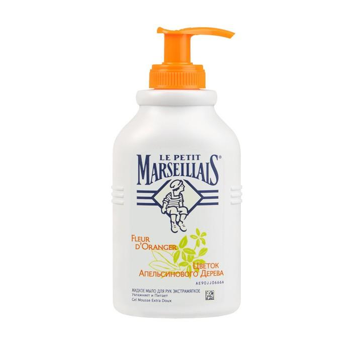 Косметика для мамы Le Petit Marseillais Жидкое мыло Цветок Апельсинового Дерева 300 мл детская косметика star wars жидкое мыло 300 мл