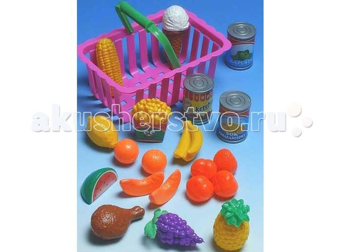 Ролевые игры Mrowiec Toys Набор фруктов в корзине miolla набор полотенец в корзине горох